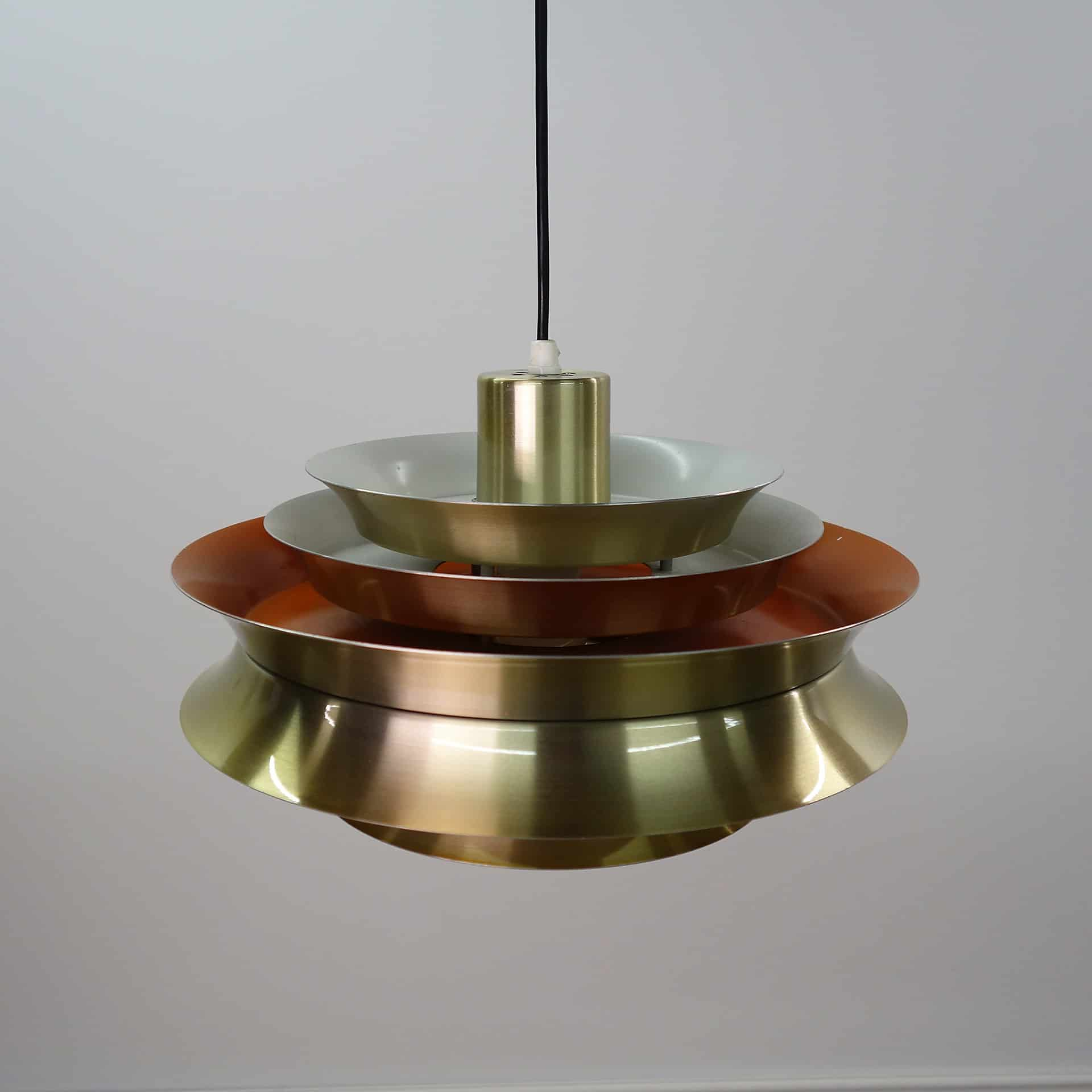 Fog & Morup style brass multi tiered light