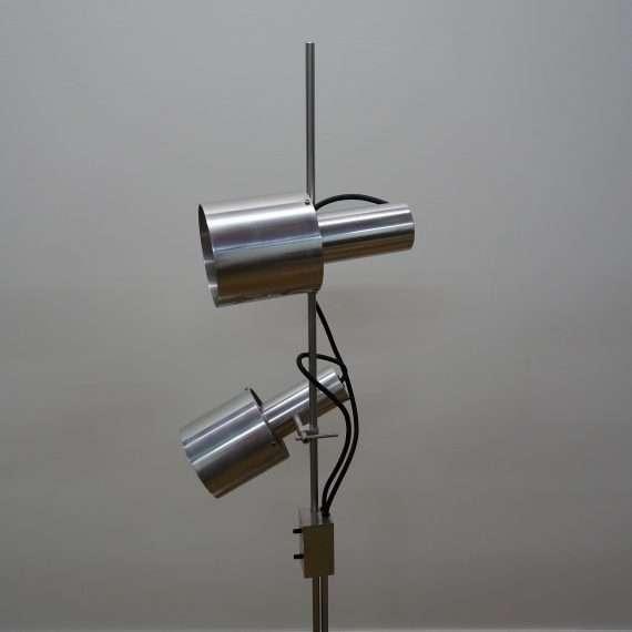 1960s Peter Nelson double spot floor lamp