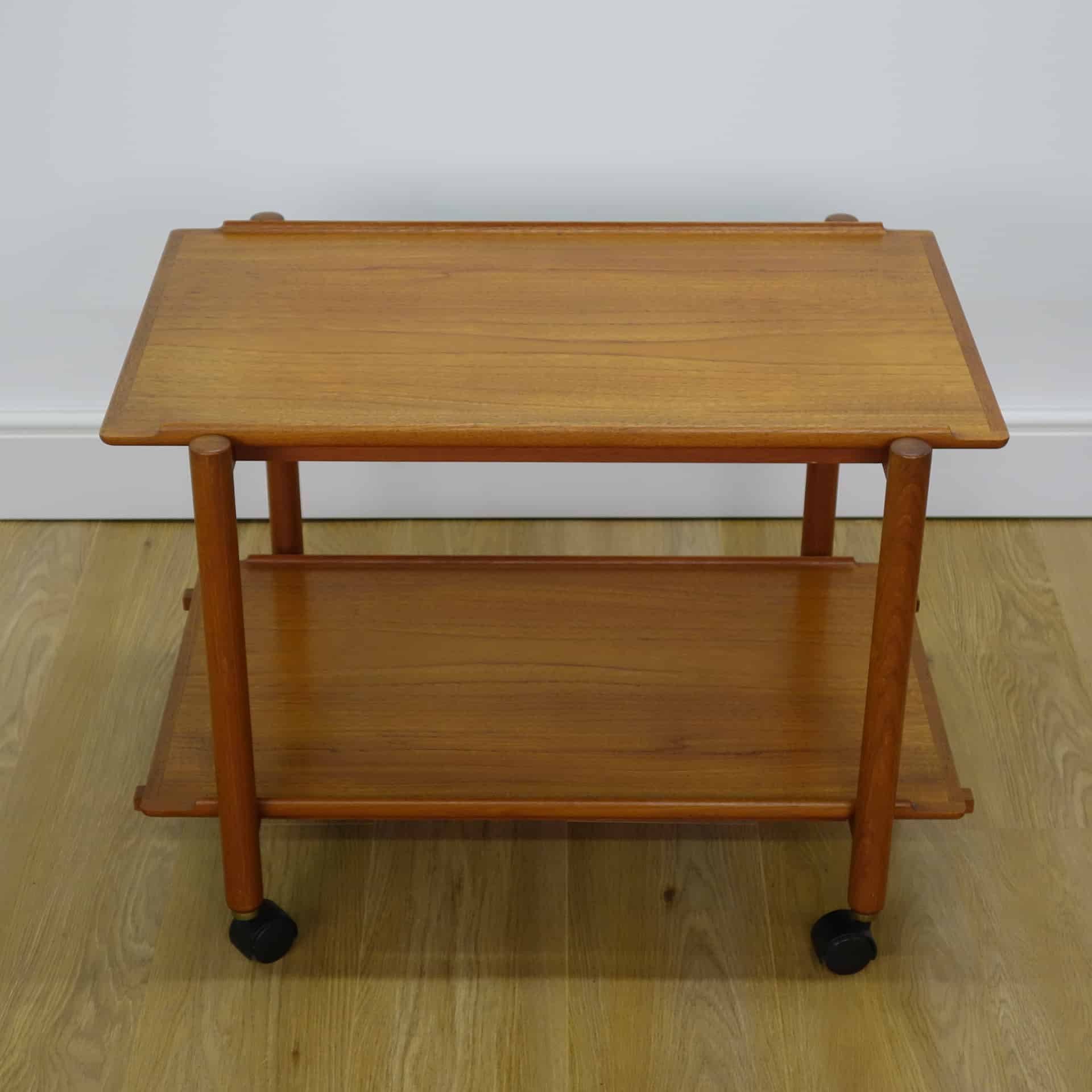 1960s Danish serving trolley by Poul Hundevad