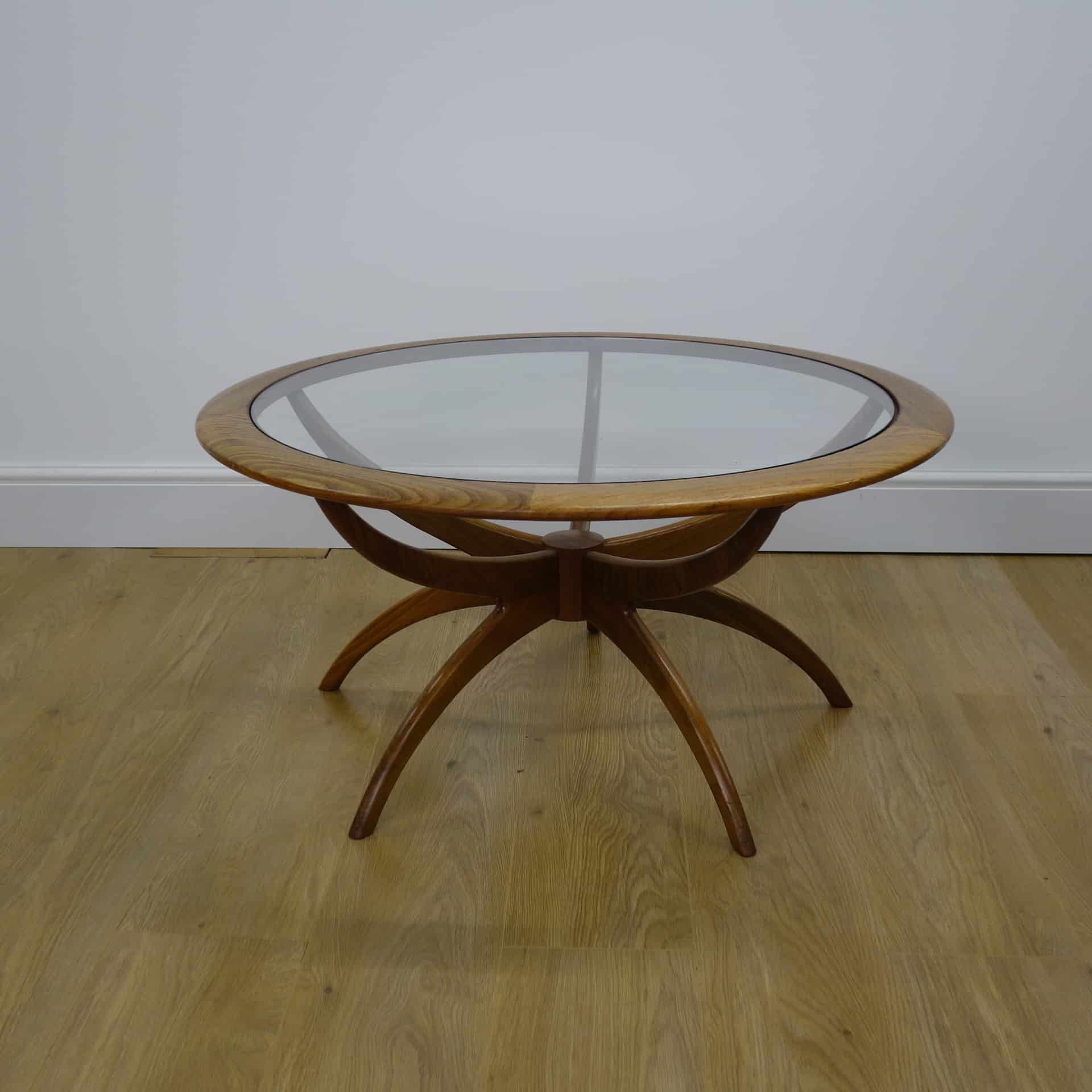 1960s teak spider table by G Plan