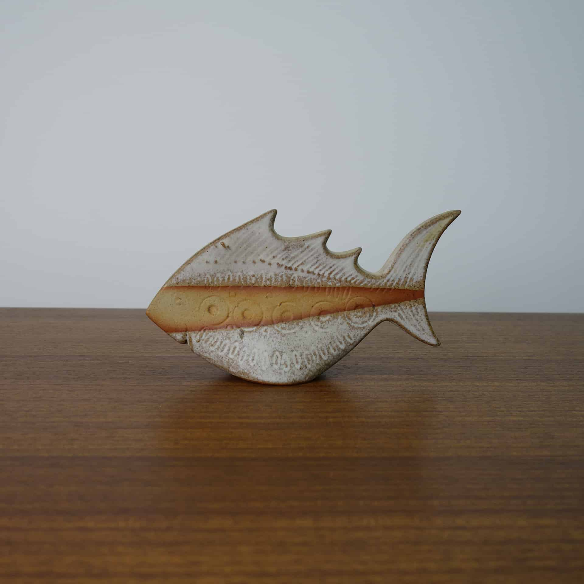 1970s Tremar style pottery fish