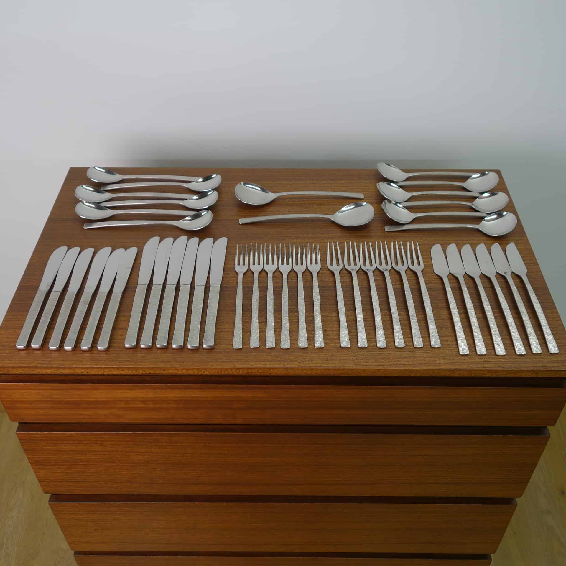 Viners Studio cutlery by Gerald Benney