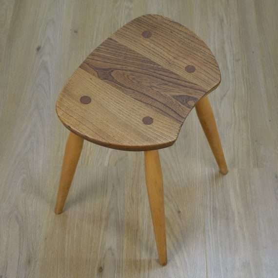 Rare 1960s Ercol saddle stool