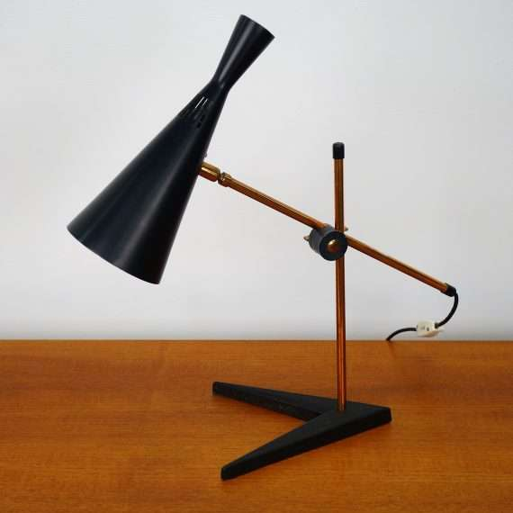 1950s adjustable desk light by G A Scott for Maclamp