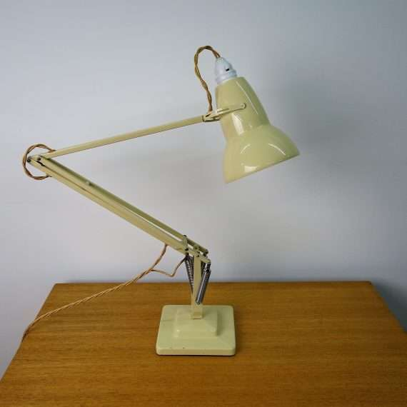 1950s cream anglepoise lamp by Herbert Terry