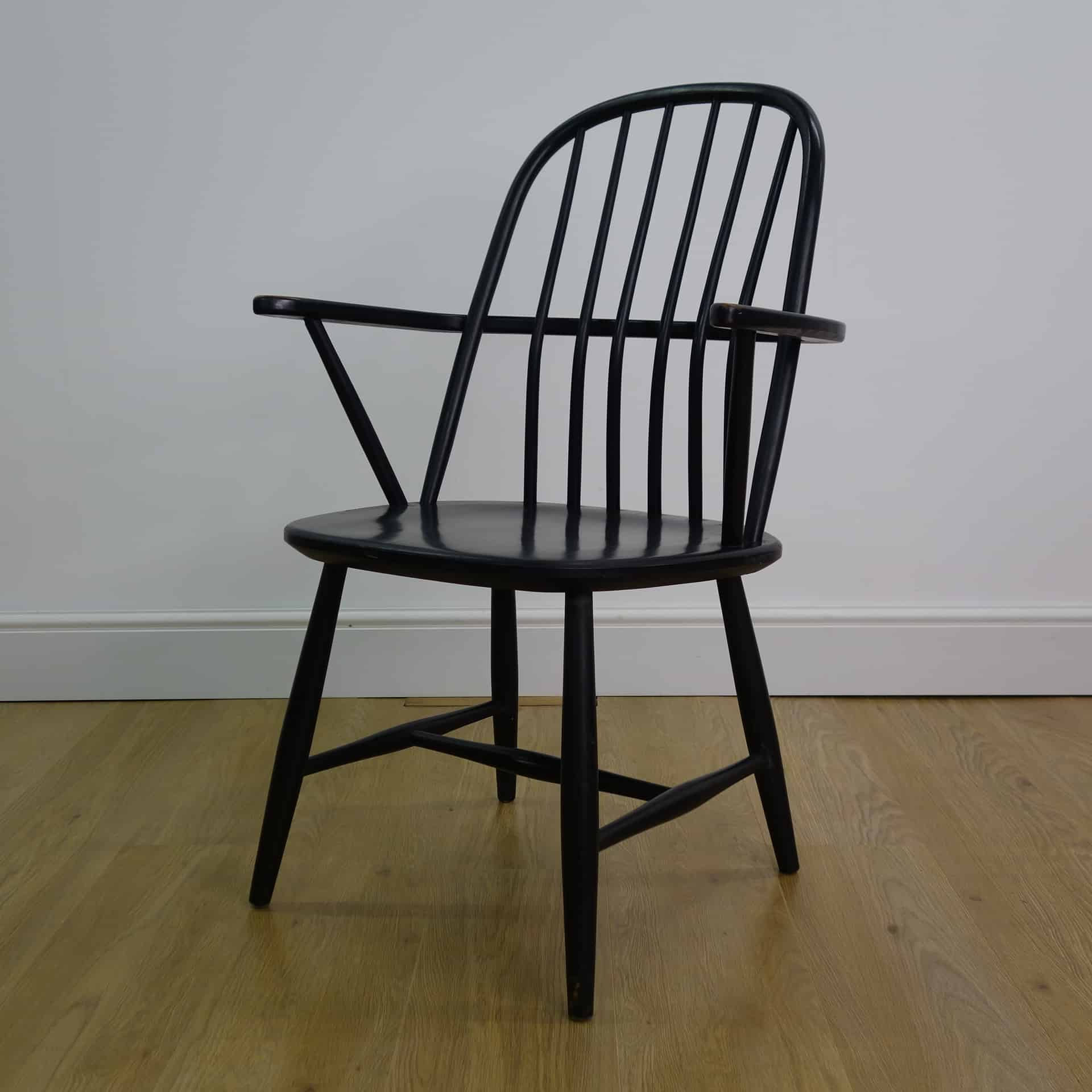ercol stick back style chair
