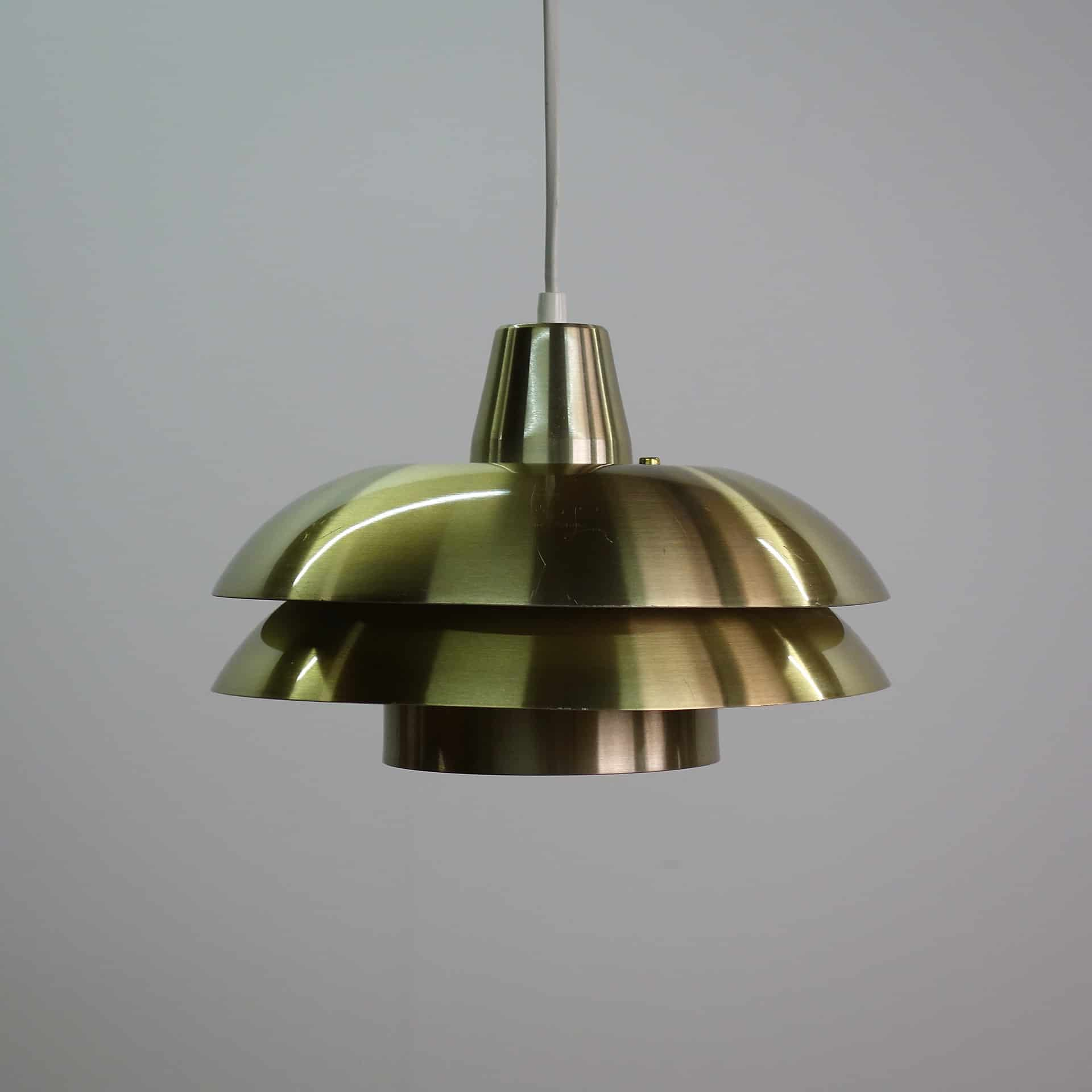 09 May Small Fog & Morup Style Brass Pendant Lamp
