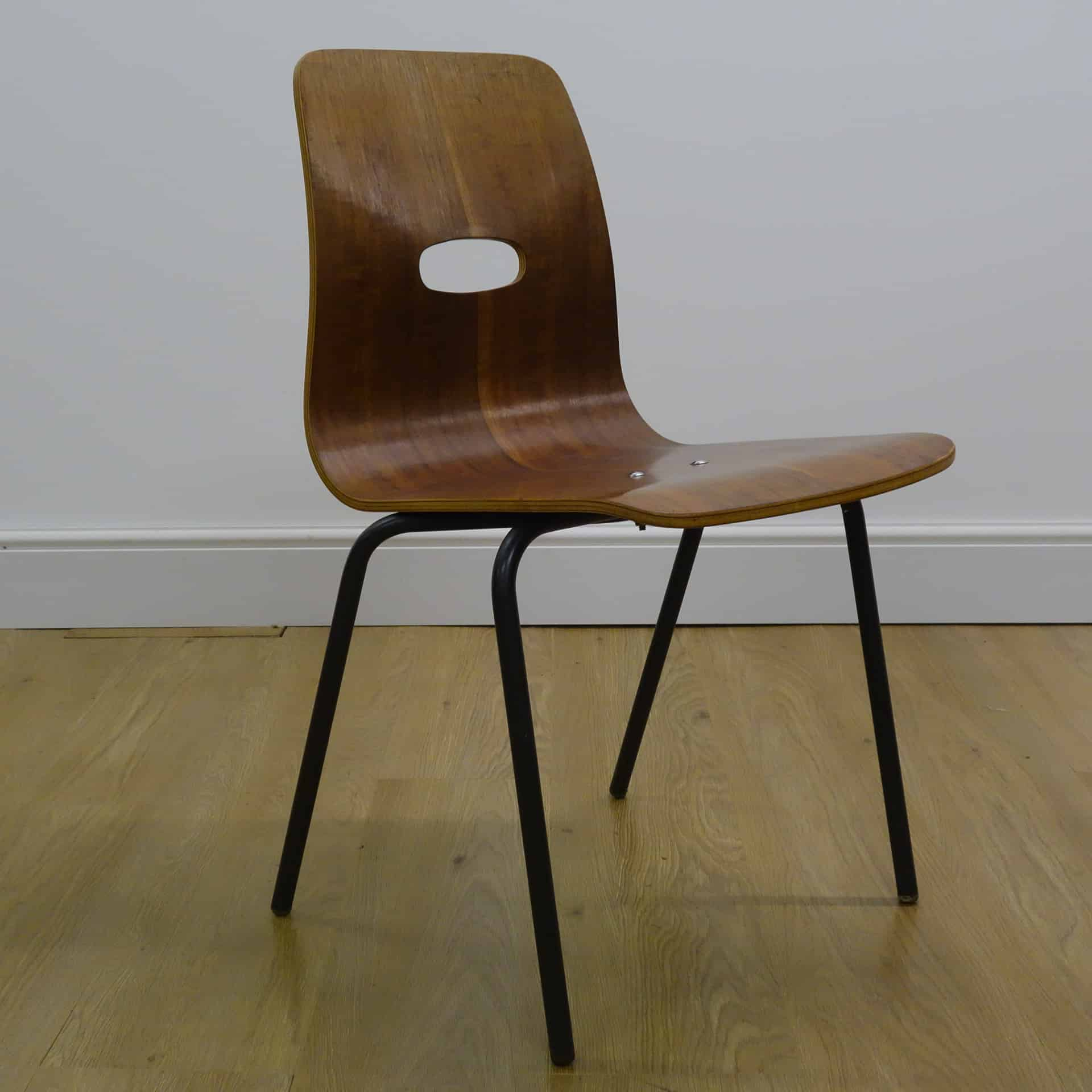 1950s Q stak chair by Robin Day
