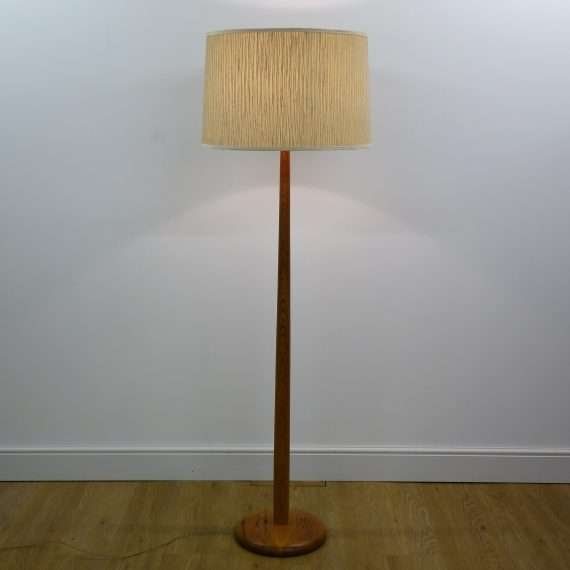 1960s Pine standard lamp by Robin Nance St Ives