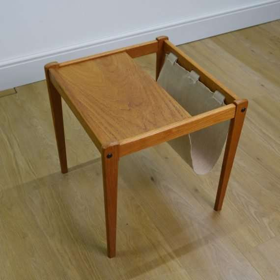 Danish table/magazine rack by BRDR Furbo